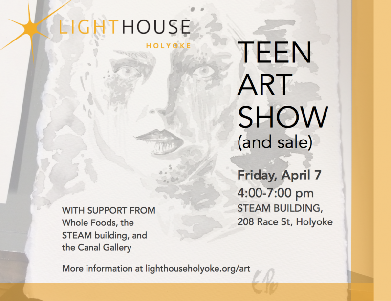 teen art show lighthouse holyoke